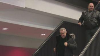 VIDEO DEMENTIAL | IMAGINI FABULOASE de la final: Gigi Becali a dansat de bucurie dupa victoria cu Lazio! Patronul Stelei nu a mai tinut cont de nimic: reactia fanilor