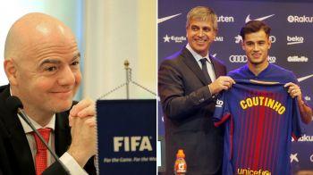 Reguli ANTI PSG si City! FIFA schimba modul in care cluburile fac transferurile! Anuntul facut de Infantino