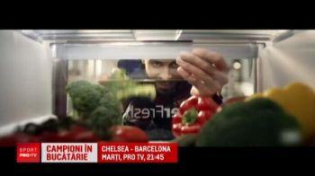Chelsea - Barca, marti, PROTV // Messi, Pique si Suarez fac reclama la frigidere construite in Romania! VIDEO