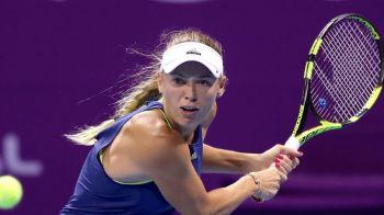 """HALEP S-A RETRAS DE LA DOHA // Simona ramane pe locul 2 WTA! Reactia lui Wozniacki dupa retragerea adversarei sale: """"Imi pare rau pentru ea"""""""