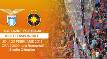 """Steaua vinde bilete de luni pentru returul cu Lazio! Romanii iau cu asalt Olimpico: """"Sa UMPLEM Peluza Sud!"""" FOTO"""