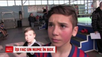 Rivalitatea dintre Messi si Ronaldo a ajuns in ringul de box la Ploiesti! Ce au facut doi copii