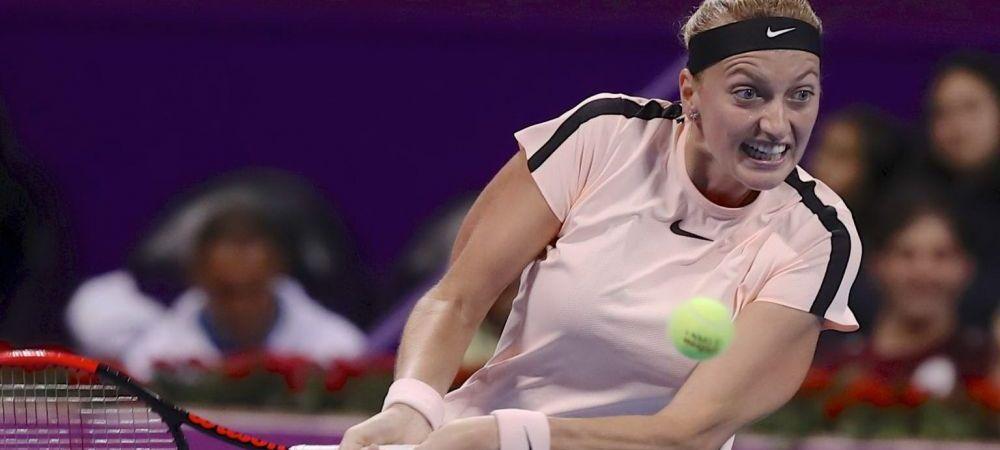 FINALA DE LA DOHA // Kvitova, revenire senzationala si victorie cu 3-6; 6-3; 6-4 in fata Muguruzei!