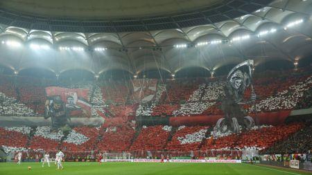 FOTO: Dinamovistii au inventat o noua coregrafie 3D, stelistii au raspuns simplu! Mesajul din spatele coregrafiei lui Dinamo