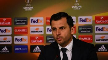 "Dica da vina pe ratari pentru egalul cu Dinamo: ""Daca se mai juca 7 minute, castigam! Mergem la Roma sa castigam!"""
