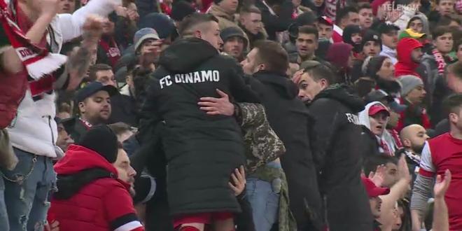 VIDEO EXCLUSIV | Acel moment cand toata peluza tace. Reactia dinamovistilor la golul lui Teixeira. Ce au facut Torje si Nistor