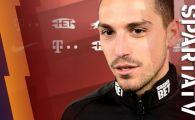 Stanciu a dat gol la primul SUT in tricoul Spartei Praga! Ce a spus dupa meci