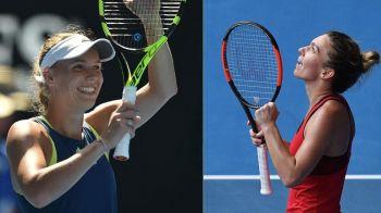 """Sunt gata de lupta!"" Wozniacki, mesaj pentru Simona Halep dupa ce a fost detronata in clasamentul WTA"