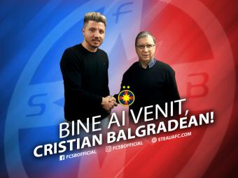 FOTO! Balgradean a semnat cu Steaua:  Am venit sa castig titlul! E un pas inainte!  Ce numar va purta