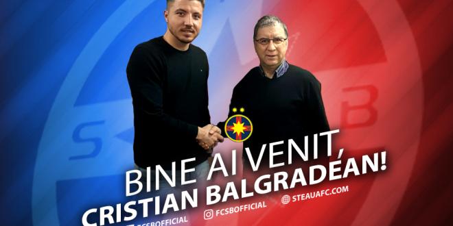 FOTO! Balgradean a semnat cu FCSB:  Am venit sa castig titlul! E un pas inainte!  Ce numar va purta