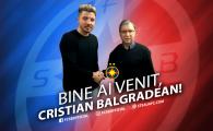 """FOTO! Balgradean a semnat cu FCSB: """"Am venit sa castig titlul! E un pas inainte!"""" Ce numar va purta"""