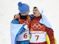 Imaginea zilei IN LUME! Un rus si un ucrainian, protagonistii unui gest superb pe podiumul Olimpic