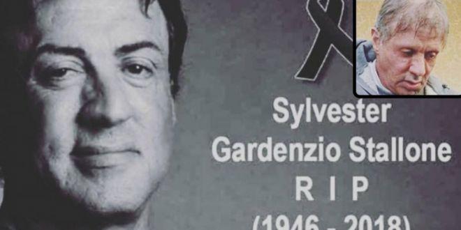 Prima reactie a lui Sylvester Stallone dupa ce a murit! :))