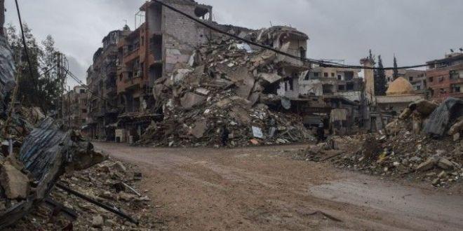 Au fost lansate bombardamente violente.  Situatia seamana cu Ziua Judecatii . VIDEO