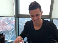 "OFICIAL! Florin Gardos e jucatorul Universitatii Craiova: ""Atmosfera e ca in Anglia, te simti fotbalist!"" FOTO"