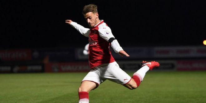 VIDEO! Vlad Dragomir a lovit din nou! Pustiul roman de la Arsenal a marcat un nou gol superb: sut direct la vinclu