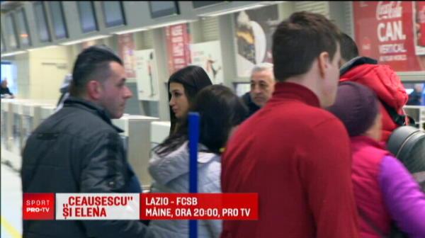 EXCLUSIV Primele imagini cu Elena Basescu si noul iubit cu 12 ani mai tanar! Fiica fostului presedinte Traian Basescu, in deplasare cu STEAUA