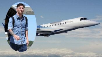Bine ati venit la bordul avionului personal al lui Leo Messi! Argentinianul a cheltuit o suma uriasa pentru el: FOTO