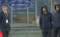 """""""Aoleu, ce ne asteapta!"""" Stelistii, plouati RAU la Roma inaintea meciului cu Lazio. VIDEO de pe Olimpico"""