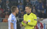 CE A FOST ASTA?! Faza SCANDALOASA la 1-0 pentru Lazio! Atac extrem de periculos pentru Steaua oprit aiurea de arbitru! Ce s-a intamplat