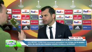 """Lazio 5-1 Steaua // Dica, dupa umilinta de la Roma: """"Sunt dezamagit, nu a mers nimic! Asta este diferenta intre noi si ei!"""""""