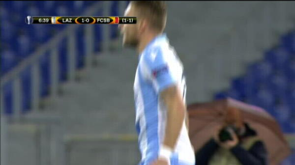 LAZIO 5-1 STEAUA, FAZE VIDEO // Steaua, OlimpiKO la Roma! Hattrick Immobile, Anderson s-a distrat. Gnohere a marcat din nou! Vezi REZUMAT