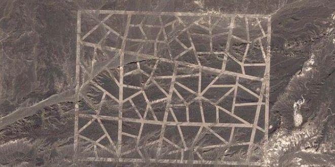Mesaj pentru OZN-uri sau secret de stat? Forme ciudate descoperite in China prin Google Earth