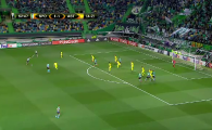 TOP GOLURI EUROPA LEAGUE // Sutul SUPERSONIC de la 35 de metri la care portarul nu a avut nicio sansa! VIDEO