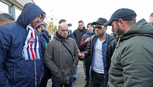 Milionarii lui PSG, bagati in SEDINTA de fani la antrenament! Mesajul VEHEMENT al suporterilor