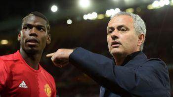 """""""Aici eu sunt seful!"""" Scandal intre Mourinho si Pogba! Francezul de 100 de milioane vrea sa PLECE de la United!"""
