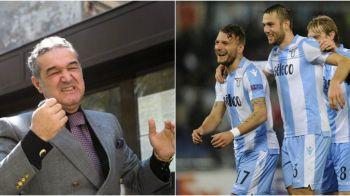 """""""Joaca bine si pune 10 milioane la cota"""" :) Becali a avut dreptate, dar n-a nimerit jucatorii! Trei fotbalisti ai lui Lazio, in echipa ideala din UEL"""