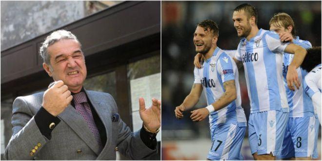 Joaca bine si pune 10 milioane la cota  :) Becali a avut dreptate, dar n-a nimerit jucatorii! Trei fotbalisti ai lui Lazio, in echipa ideala din UEL