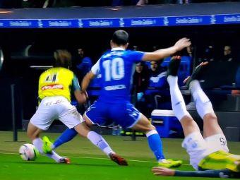 VIDEO   Andone, intrare CRIMINALA: romanul, la pas sa-i distruga cariera fundasului lui Espanyol! Decizia luata de arbitru