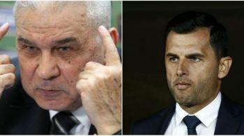 Verdict: vinovat! Iordanescu arata spre Dica dupa infrangerea dureroasa de pe Olimpico si eliminarea din Europa