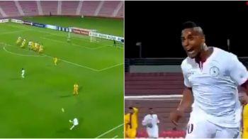 FA-BU-LOS! Eric s-a transformat in Ronaldinho la arabi si a dat un gol care l-a eclipsat pana si pe Sneijder: VIDEO