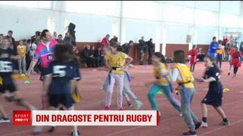 Peste 160 de fetite au jucat azi rugby la Iasi! VIDEO