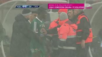 Momente de panica: medicii de pe ambulanta au interzis o decizie a antrenorului si au fortat o schimbare la FCSB - Sepsi