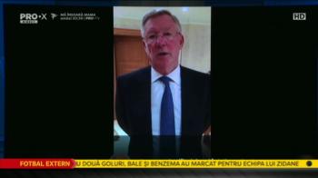 Surpriza imensa la lansarea candidaturii lui Lupescu: MESAJ de la Sir Alex Ferguson! Hagi si Lucescu sustin lupta anti-Burleanu! VIDEO