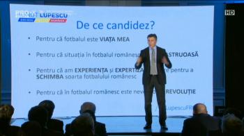 """MANIFESTUL lui Ionut Lupescu! Planul prin care vrea sa REVOLUTIONEZE fotbalul din Romania: """"Fotbalul pe primul loc!"""""""
