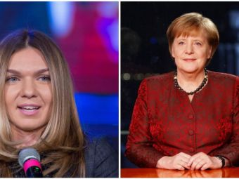 "Angela Merkel tine cu Simona Halep: ""Ce mai face fatuca aia a voastra? Ce mai castiga?"""