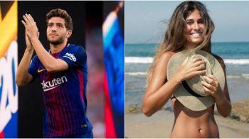 E in umbra lui Messi, Suarez ori Coutinho, dar lucrurile se schimba atunci cand se afiseaza cu iubita la brat! BOMBA: Cum arata cucerirea lui Sergi Roberto