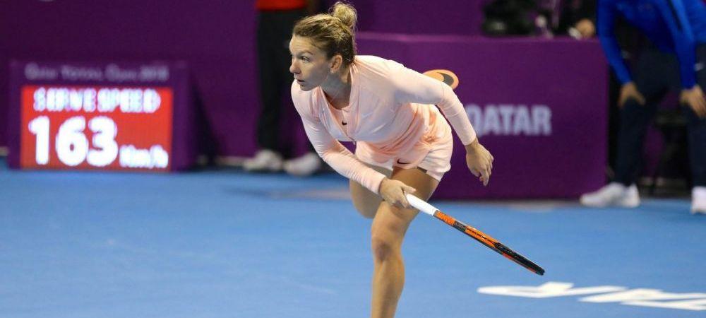 SIMONA HALEP LA INDIAN WELLS // Avantaj mare pentru Simona Halep in lupta cu Wozniacki pentru numarul 1 mondial! Toate calculele