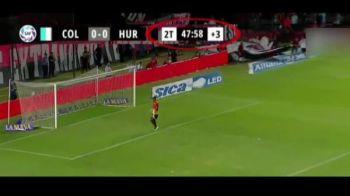 DOAR DINAMO BUCURESTI... a mai patit asta! :) VIDEO | Scandal urias in Argentina: golul anului, anulat pentru ca arbitrul s-a intors cu spatele