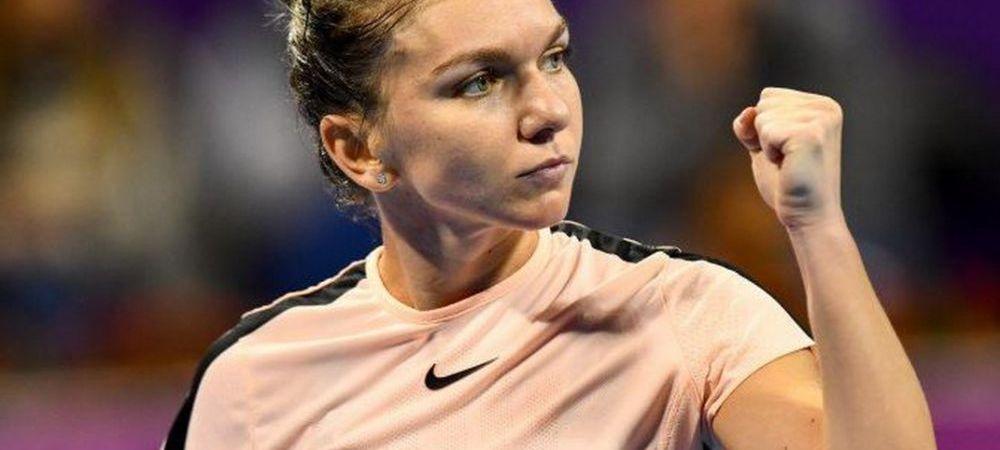 SIMONA HALEP LA INDIAN WELLS // Simona este peste Wozniacki in topul publicat de WTA! Doar o singura jucatoare o depaseste