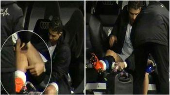 PANICA pentru Real Madrid inaintea marelui meci cu Paris Saint-Germain! Ce a patit Cristiano Ronaldo la meciul cu Getafe