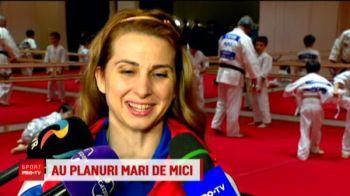"""""""Ma pot apara impotriva oamenilor rai care vor sa-mi faca felul"""" :)) Alina Dumitru, lectii de judo pentru viitori campioni ai Romaniei"""
