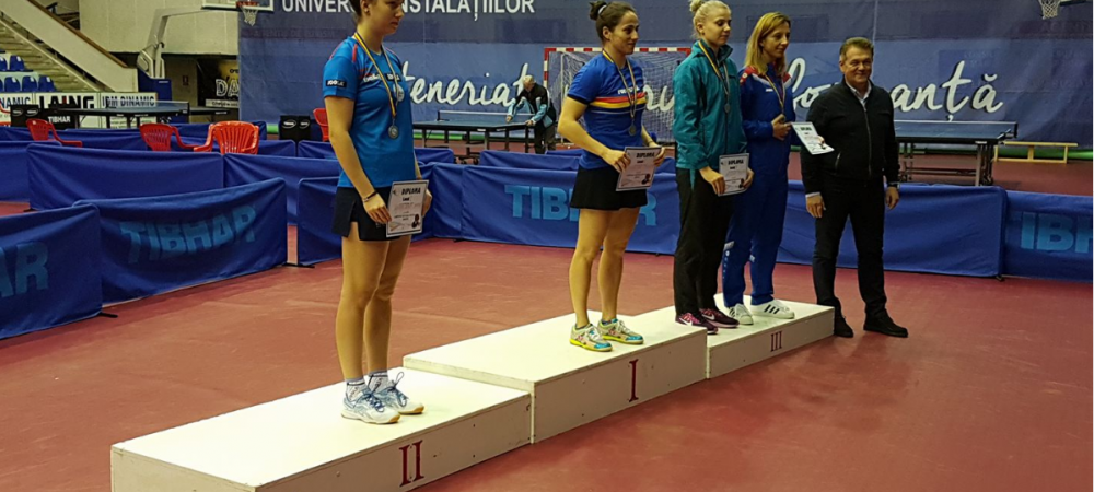 Asta e culmea! Campioana europeana la tenis de masa, locul 3 la nationalele de la Buzau :)