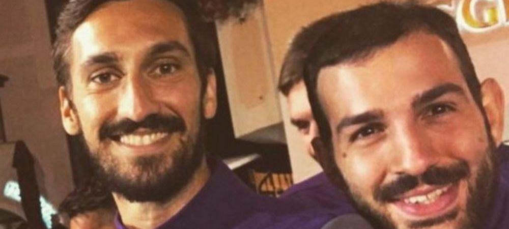 "Mesajul sfasietor al unui jucator de la Fiorentina dupa moartea lui Davide Astori: ""Intoarce-te din camera aia blestemata, te asteptam la antrenamente!"""