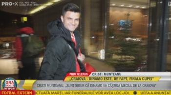 """Craiova - Dinamo, ora 17:00, PRO X // Anuntul renasterii la Dinamo: """"Batem la Craiova, n-am nicio emotie! Uitam de playout cu trofeul Cupei!"""""""