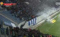 VIDEO: Explozie dupa EXPLOZIE la Craiova! Fanii sunt la un pas de BATAIE in tribune. Ce s-a intamplat